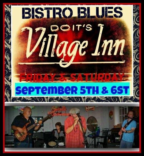 Bistro Blues Band 9-5, 9-6-14
