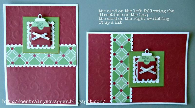 tag card Holiday Card Kit 01