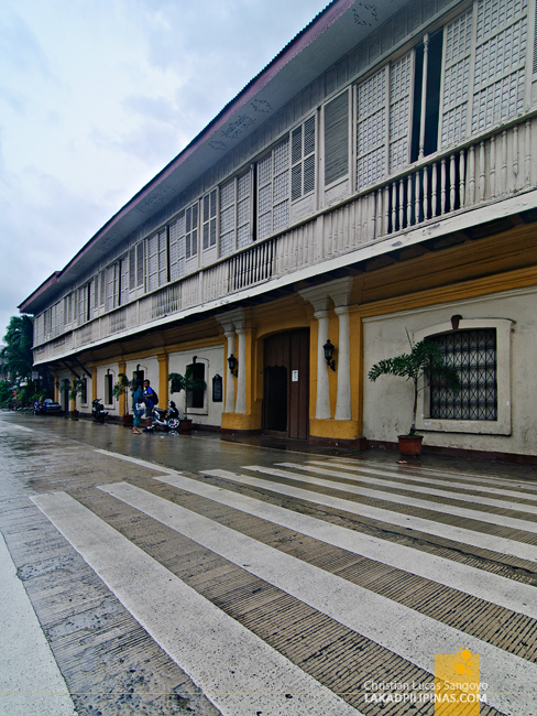Syquia Mansion in Vigan City