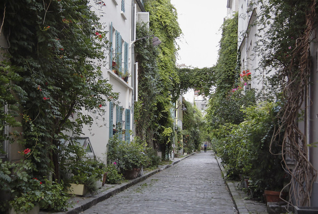 Rue des Thermopyles - near Montparnasse