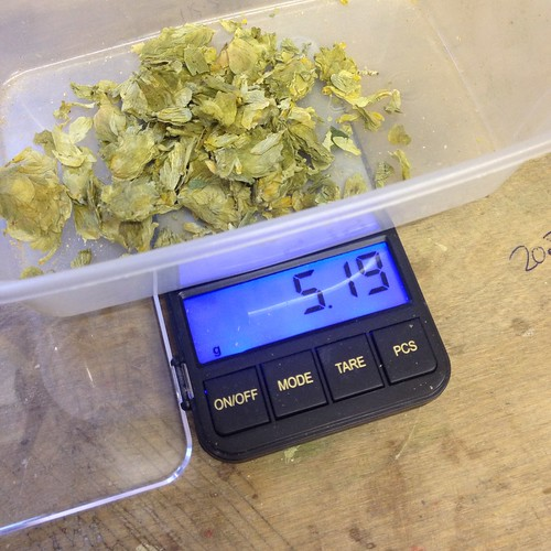 AG#126 Wishbone IPA, a massive 5g of FWH for the copper.