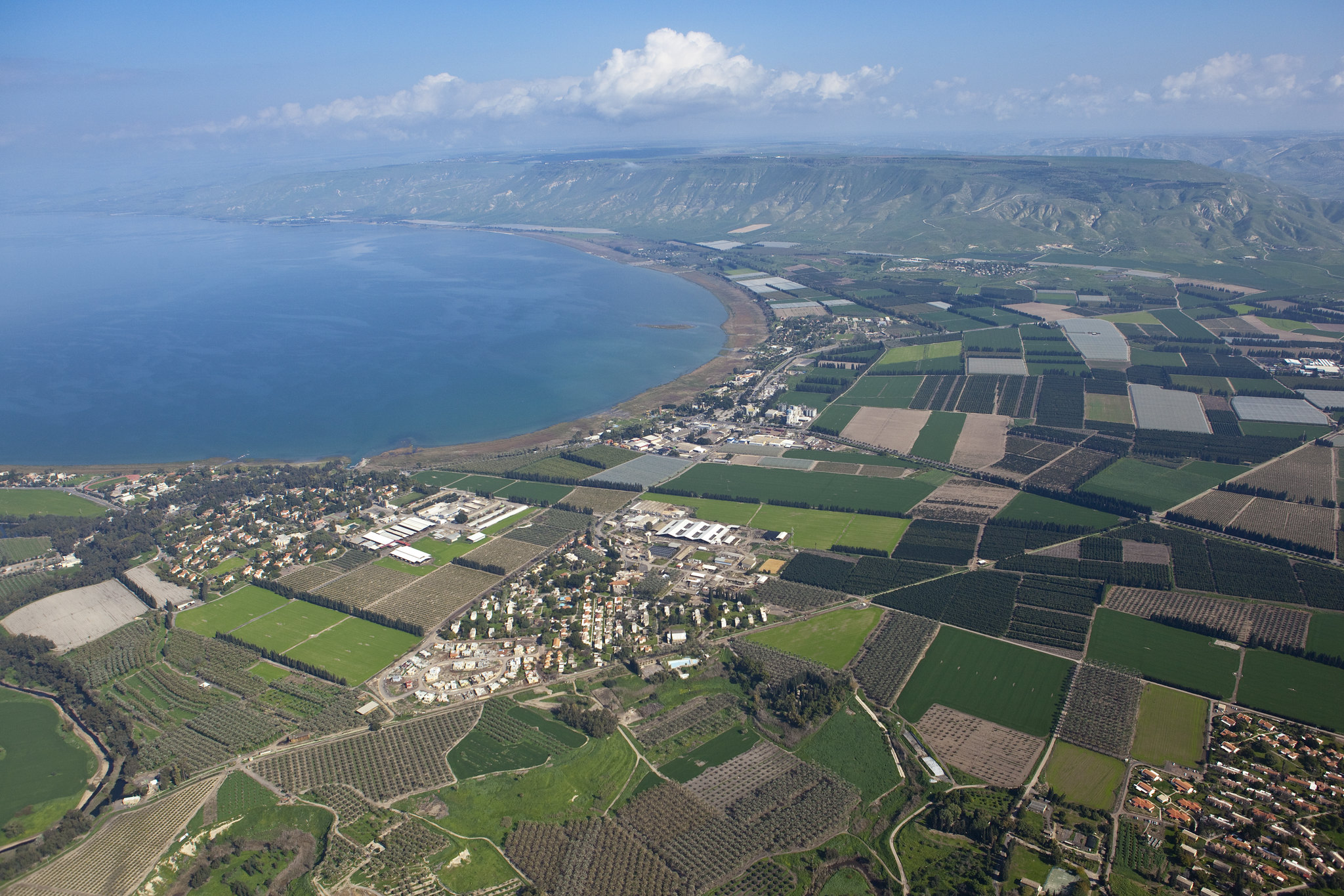 SEA OF GALILEE - AERIAL VIEW_Itamar Grinberg_IMOT