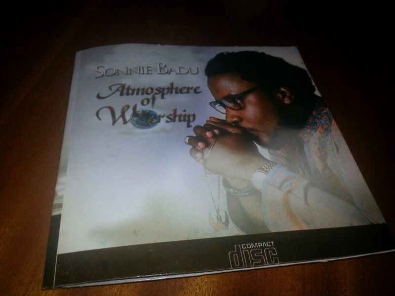 "DISCLAIMER:  ""Atmosphere of Worship"" CD Not from Sonnie Badu"