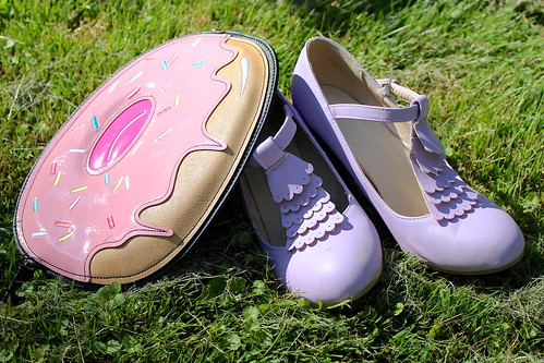 lavender shoes