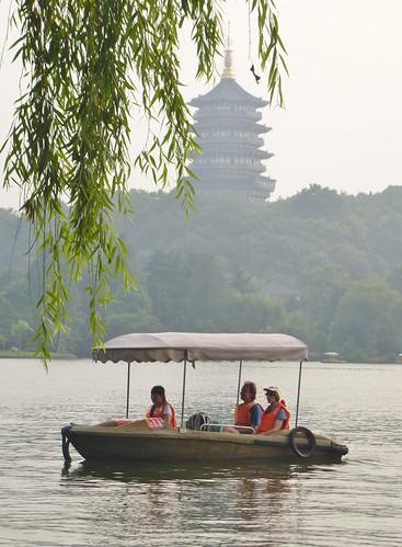 Zhejiang-Hangzhou-Lac-Coucher de soleil (3)
