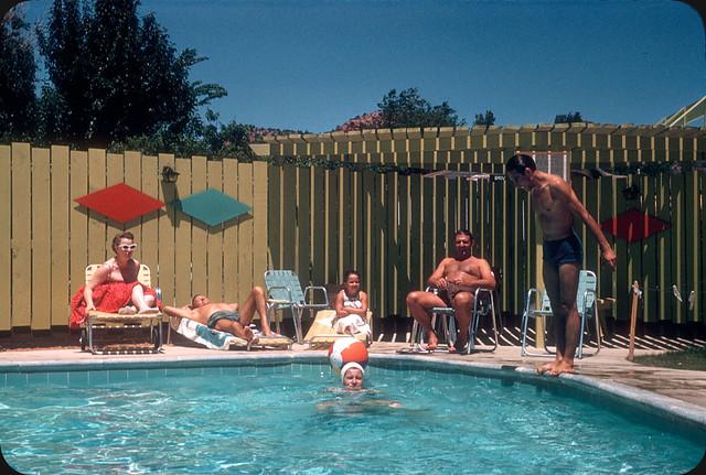 Flickriver Vintage Pool Party Pool