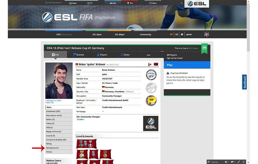 ESL FIFA 3