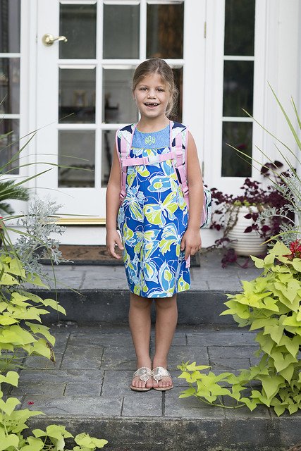emma first day of school 2014