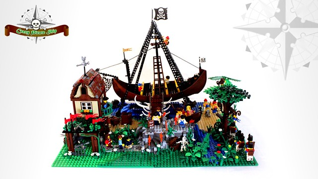 Crazy Pirate Ship