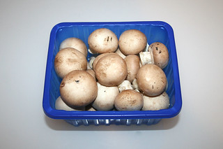 06 - Zutat Champignons / Ingredient mushrooms