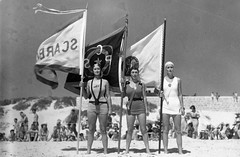 Women surf life savers at carnival 23 Jan. 1938