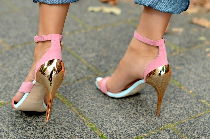 DSC_5748 Zara Pink and Blue Colorblock sandal heels