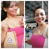 Antes: garota propaganda @browniedopora .  Depois: acrobata circense sem noção.  #semmake #semnocao #freeyourface #stopthebeautymadness