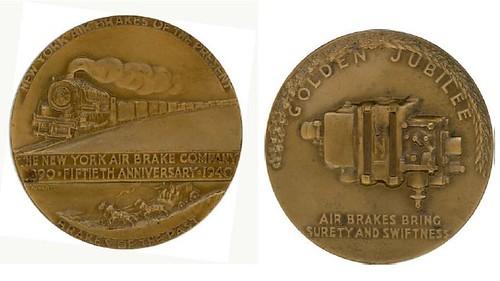 New York Air Brake medal