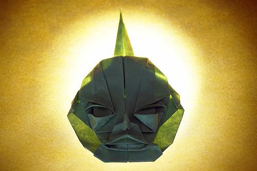 Origami 'Demon Mask' (Toyoaki Kawai)