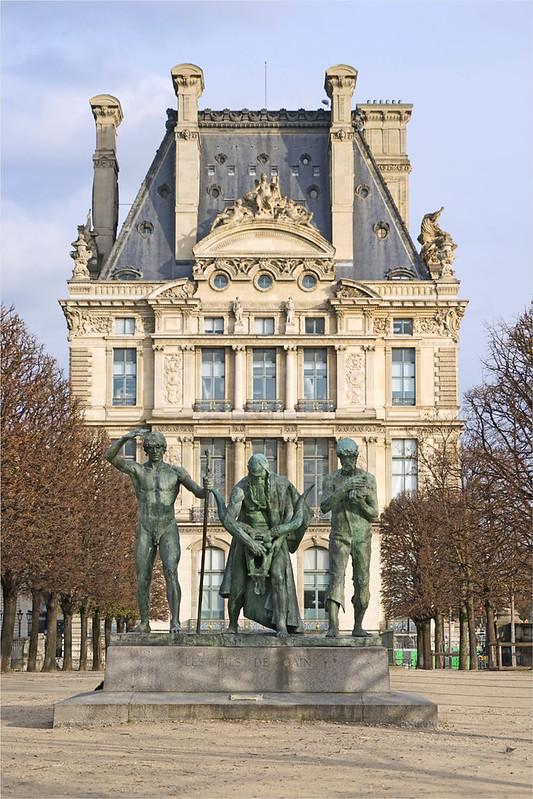 Les fils de Caïn de Paul Landowski (Paris)