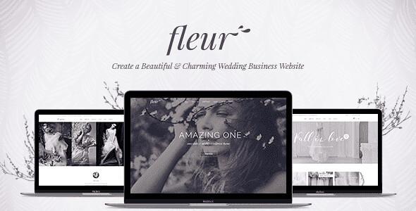 Fleur WordPress Theme free download