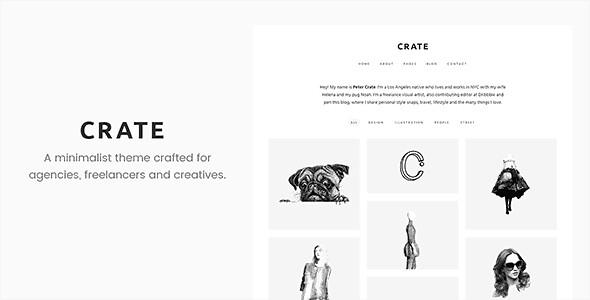 Crate WordPress Theme free download