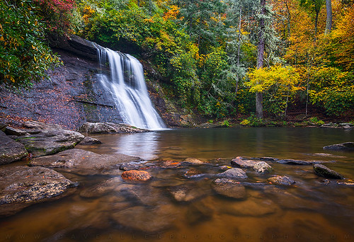 autumn fall nc foliage northcarolina outdoors waterfalls nature blueridge falls mountains creek river outdoorphotographer landscape waterfall wnc westernnc fallcolors colors d800 nikon daveallen appalachian