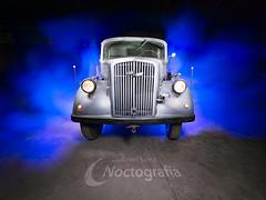 "Opel Blitz ""Light Painting"""