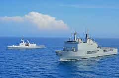 ESPS Galicia and FS Courbet