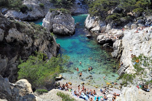ocean blue sea cliff france beach nature water azul creek agua aqua europe turquoise south provence plage emerald emeraude falaises calanques crique