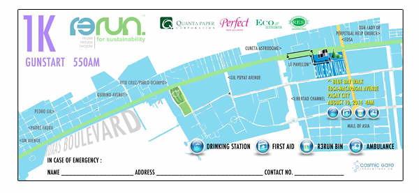 R3Run 1k race map