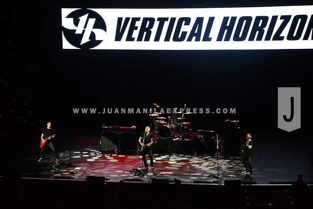 VERTICAL HORIZON AT NEWPORT PERFORMING ARTS THEATER. This is the 3rd time that vertical Horizon visited Manila.