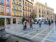 Plaza Nueva area - Granada, Spain