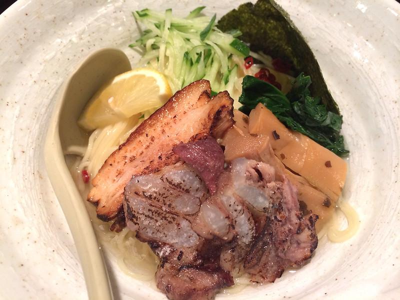 黒ごま冷やしつけ麺 | Cold Dipping Noodle Black Sesame Taste