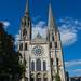 Cathédrale de Chartres - Vue de face ©Vincent Catillon
