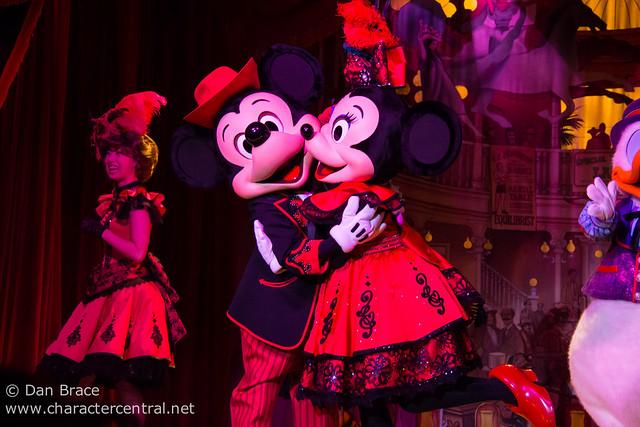 Mickey and Company at the Diamond Horseshoe