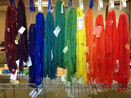 Fibre week 2014. Dye day