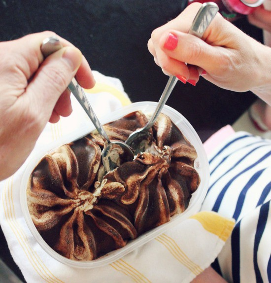 Hi Sugarplum | Gelato Sundae Cones