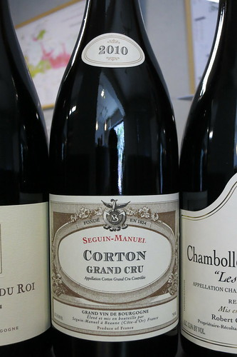 Corton Grand Cru 2010, Seguin Manuel