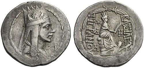 300 – Tigranes II. Tetradrachm, Antiochia