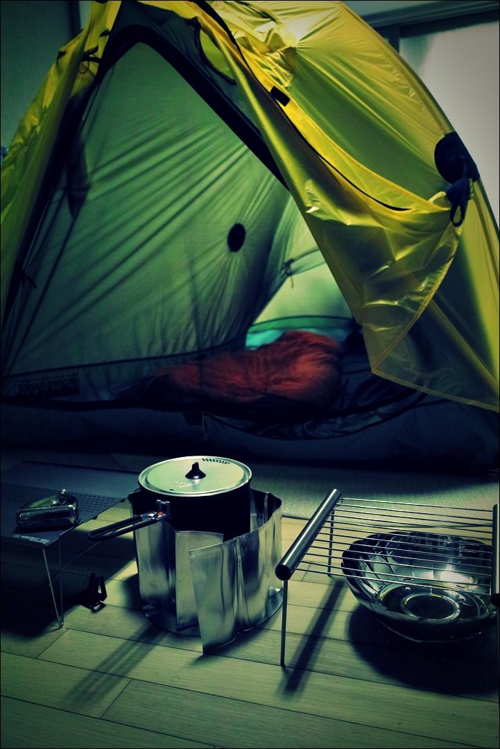 취사 도구-'자전거 야영 준비 ready to bike camping'