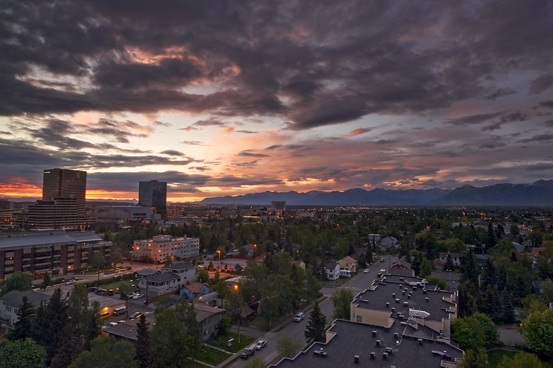 Sunrise - Anchorage