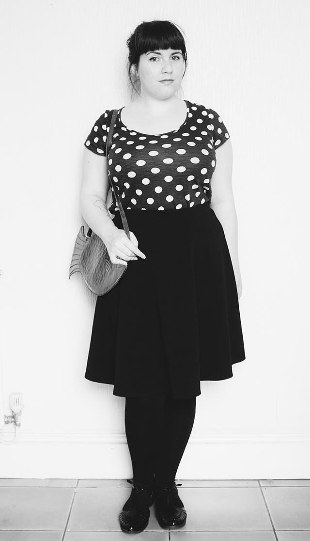spotty top full length
