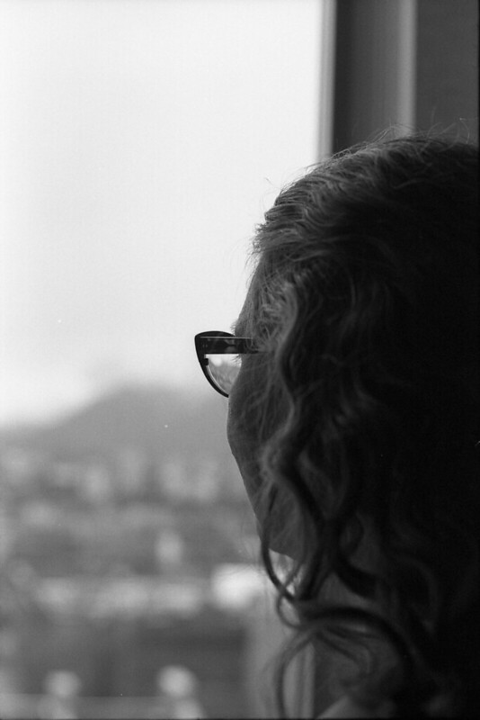 Madeleine at her window