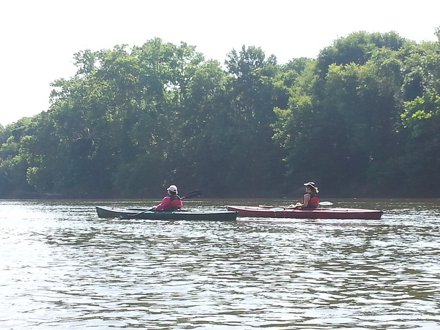 Kayaking on the James River at Powhatan State Park