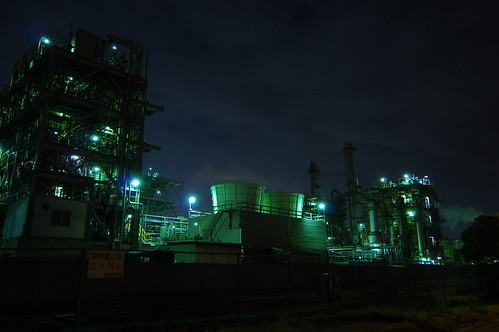 Nightscape at Kawasaki Industrial Zone 17