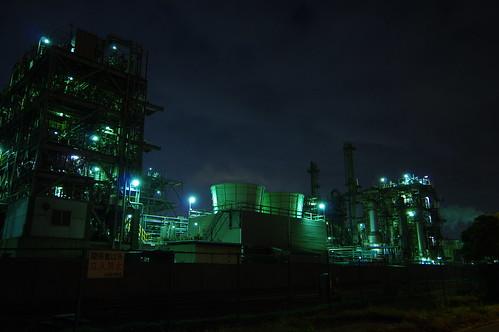 Nightscape at Kawasaki Industrial Zone 17