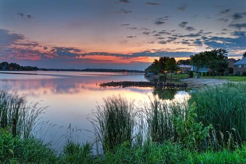sunrise landscape hdr beaverdam