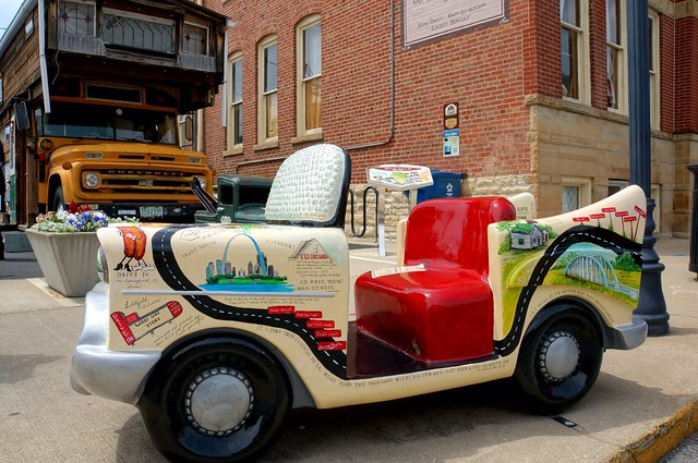 "P.R.O.U.D. Art Project - ""Cruisin' the Square"" - Pontiac, Illinois"