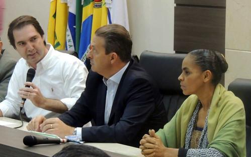 Quinteiro, Eduardo Campos, Marina Silva