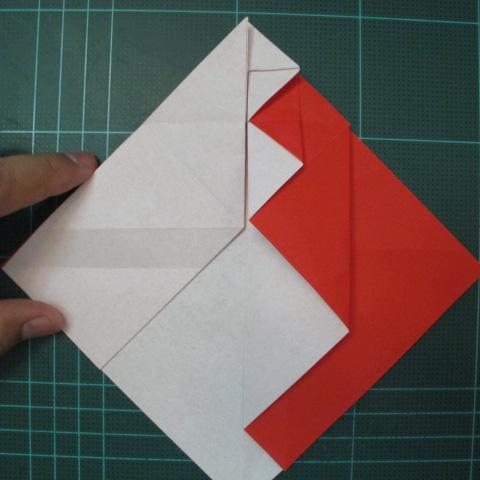 การพับกระดาษเป็นรูปสัตว์ประหลาดก็อตซิล่า (Origami Gozzila) 018