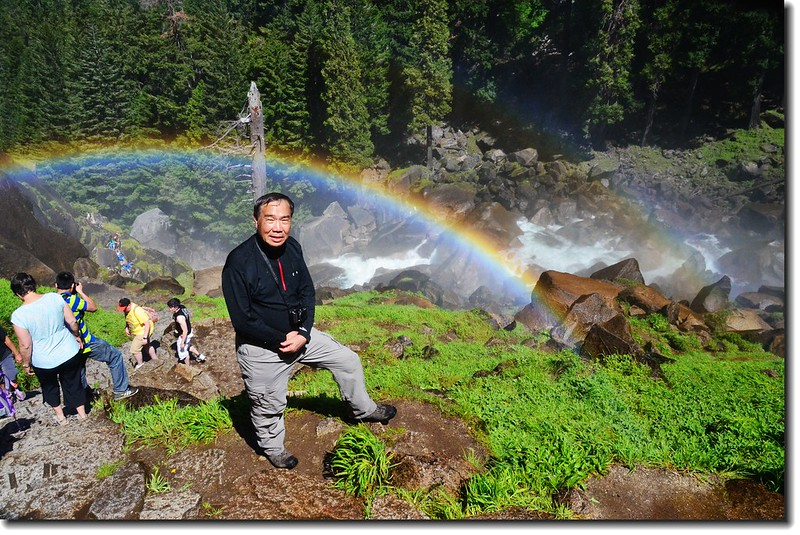 Taken under rainbow, Vernal Fall 6