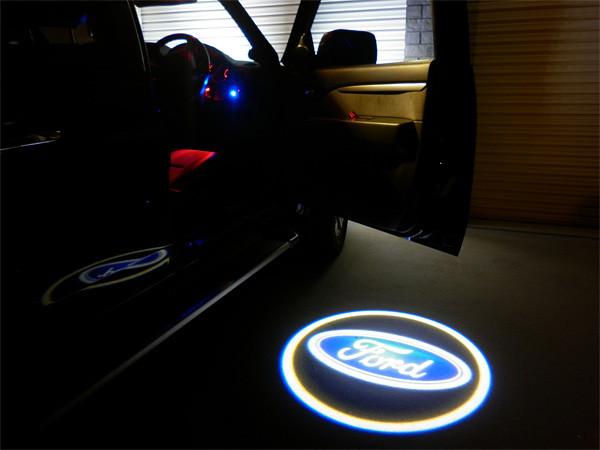 Ford Door Led Logo Set Courtesy Light Laser Ghost
