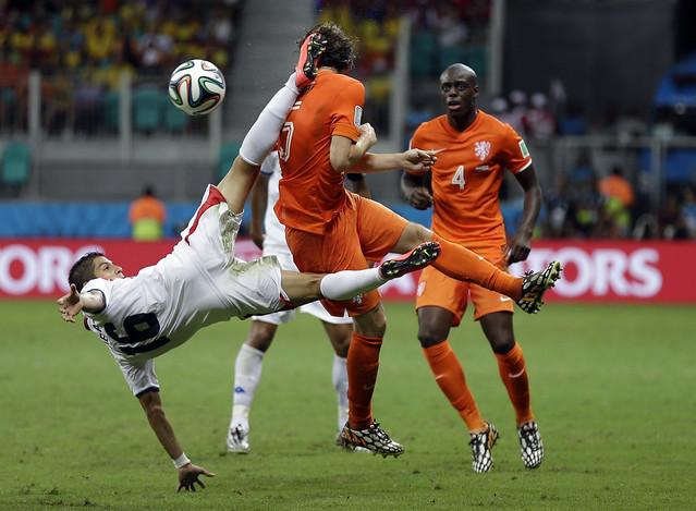 APTOPIX Brazil Soccer WCup Netherlands Costa Rica